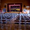 今日は明後日開催のコラボコンサートに向けた会場準備でした