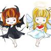 天使と悪魔のせめぎ合い