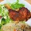 クリスマスレシピ塩麴と米粉で簡単!骨付き鶏もも肉の唐揚げの作り方と気づいたこと。