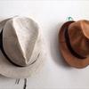 型崩れ防止!帽子の壁掛け用収納フックには針金ハンガーが便利です