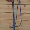 細い紐、一本で。