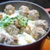 ガパオ肉団子とタケノコの炊き込みご飯
