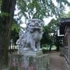 今阿蘇神社の狛犬