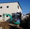尾張旭市アールプランナ-の家着工 モルタル塗壁