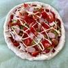 手作り窯で焼くピザの味!