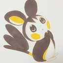 Emolga is so cute♡