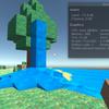 UnityでMinecraft風ゲームを作る その11「水を流す」