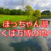 【大自然!】かつての日本を沸かせた万博の開催場所でぽっちゃん湖を発見!!おじいちゃんのギター演奏もあるよ!【科学万博記念公園】