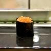 豊洲の「寿司大」でお好み28(生いくら、石垣貝、真鯛、めいち鯛他)。