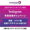ハワイアン航空、羽田-コナ線の往復航空券が1組2名プレゼント