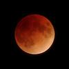 赤い月 2018年1月最後の満月は皆既月食