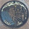 蒲郡市のマンホールの蓋(2)