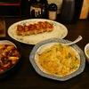 大阪王 ハバネロ麻婆豆腐+炒飯+餃子を食べた