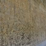 「アンコールワット Angkoor Wat」~回廊は壮大なレリーフのギャラリー、正に絵巻物の世界!!