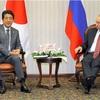 北方領土で「共同経済活動」 プーチン氏、会談で言及