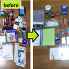 自分で物を減らして効果を検証シリーズ⑧―文房具・裁縫道具―各部屋に散らばっている文房具をかき集める