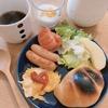 朝ご飯:疲れのたまった金曜日はのせるだけ、栄養たっぷりプレート☆ダイソーの大人気シュガーポット