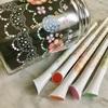 サクラクレパス デコレーゼで塗り絵とタングル