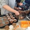 チョコケーキ作る