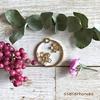 桜のイヤリングの作り方