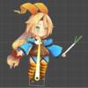 【Unity】Anima2Dでユニティちゃんがネギを振るアニメを作る