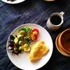 雑誌『天然生活』より自家製マヨネーズで、ポテトサラダとタルタルソース。ゴボウのポタージュ、ゴボウサラダ。自家製紅ショウガでお好み焼き、呼吸する塩壺に鰹節。