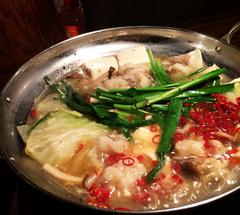 ★塩モツ鍋