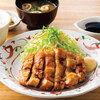 【やよい軒全メニュー食べてみた①】鶏もも一枚揚げ定食(にんにく醤油)【食べ比べ】