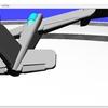 自作したロボットアームを制御する(仮想現実での制御)(その4)計算により関節の角度を求める