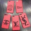 刺繍製シャネル イブサンローラン ディオール iphone7s/7splus ケース オシャレ
