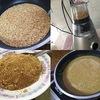 芝麻醤を自作して担々麺&しゃぶしゃぶ。