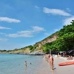 「タンパンビーチ(Tham Phang Beach)」~半端ないビーチだったので、2日間連続で今度は自転車で訪問!!