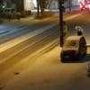 札幌で初雪