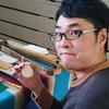 手作りキーリングのワークショップとピンストライプの実演会を開催しました☆