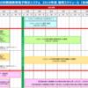 社会福祉法人の財務諸表等電子開示システム 2019年度 運用スケジュール(全体イメージ・予定)