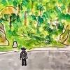 二度目の中山道歩き21日目の4(大湫宿から細久手宿への道)