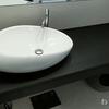 洗面室の落ちない汚れ徹底掃除! 洗面ボウル&メラミンカウンターの水垢落としにコーティングする!