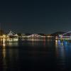 横須賀本港夜景 2014大晦日
