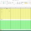 エクセルの 時間管理を集計関数をつかわずに、行うアプリ「週間スケジュール管理」