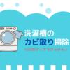 洗濯機のカビ取り掃除方法。100均の過炭酸ナトリウムで劇落ち!