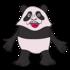 パンダ の無料イラスト