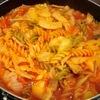 野菜不足も解消【1食87円】トマトジュースdeフジッリスープパスタの作り方