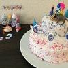 【お菓子作り】材料3つ!スペルト小麦粉でふんわりスポンジ生地〜アナ雪お誕生日ケーキ〜