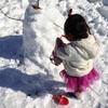 雪遊びは大人も楽しい