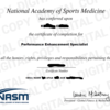 NASM-pes取得!理学療法士から見た感想!