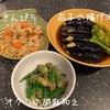 昨夜は生姜焼きと直売所の野菜で…