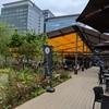 日本橋三越のグリルテラスに行ってみた。日本橋庭園の屋上ビアガーデンで休憩。(日本橋室町)