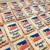 フィリピンの国旗クッキーを作らせていただきました!
