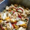 鶏パプリカしょうが煮