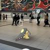 クチート様と渋谷駅のあの壁画【ポケモンGOAR写真】